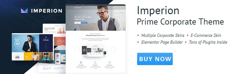 JetElements in multipurpose corporate WordPress theme